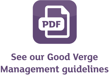 See our Good Verge Management guidelines